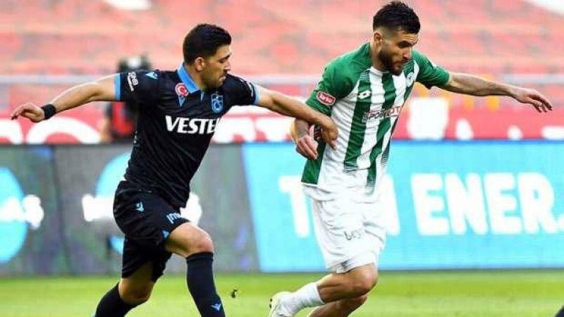 Konyaspor - Trabzonspor maçının ilk 11'leri belli oldu