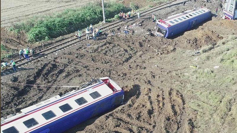 Çorlu'daki tren kazası davası sulh ile çözüldü: 21 milyon lira tazminat!