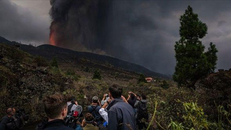 Cumbre Vieja Yanardağı'ndaki patlamaların şiddeti arttı, uçuşlar durdu