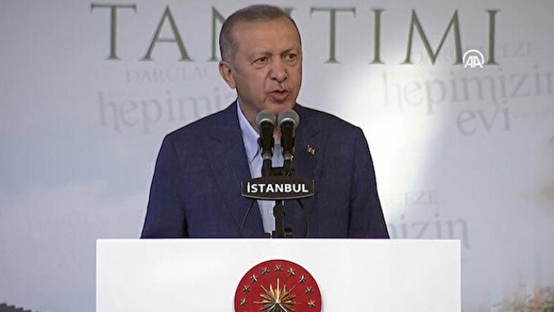 Cumhurbaşkanı Erdoğan: Kimsenin yalnız hissetmeyeceği bir sistem kurduk