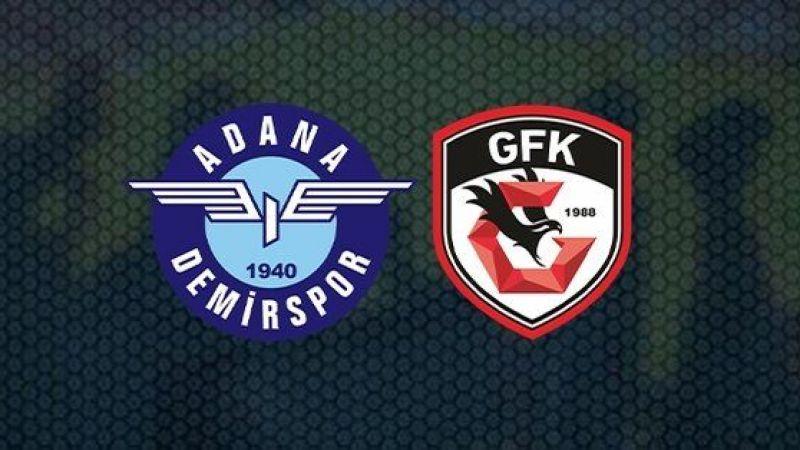 Adana Demirspor Gaziantep FK maçı izle! Adana Demirspor canlı izle, maç izle