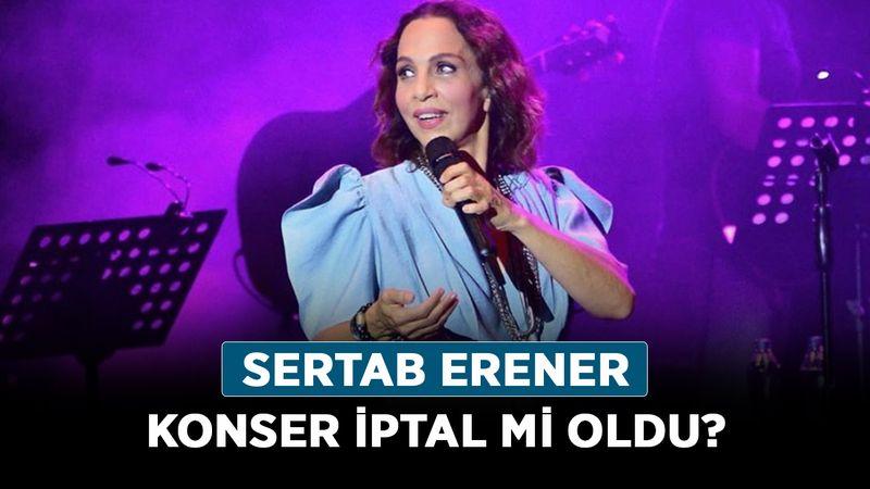 Sertab Erener konser iptal mi oldu? Sertab Erener hastalığı ne?
