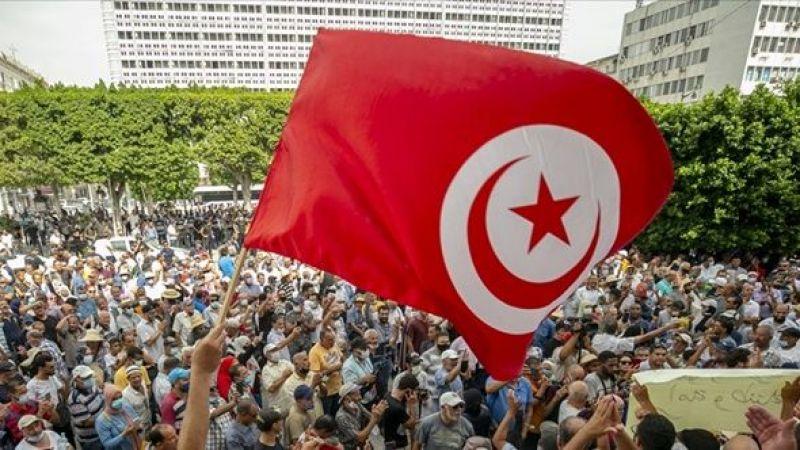 Tunus'ta halk Cumhurbaşkanı Said'i protesto için meydana indi