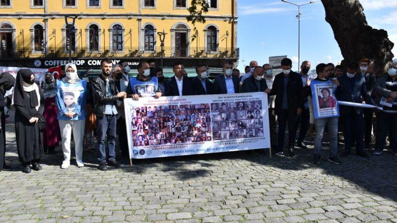 """Çin'in """"Doğu Türkistan politikası"""" Trabzon'da protesto edildi"""
