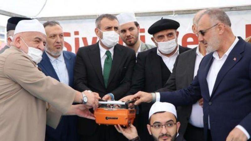 Sivas Arifan Külliyesi'nde icazet merasimi düzenlendi