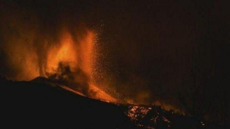 İspanya'da lavlar bir haftada 462 evi yuttu