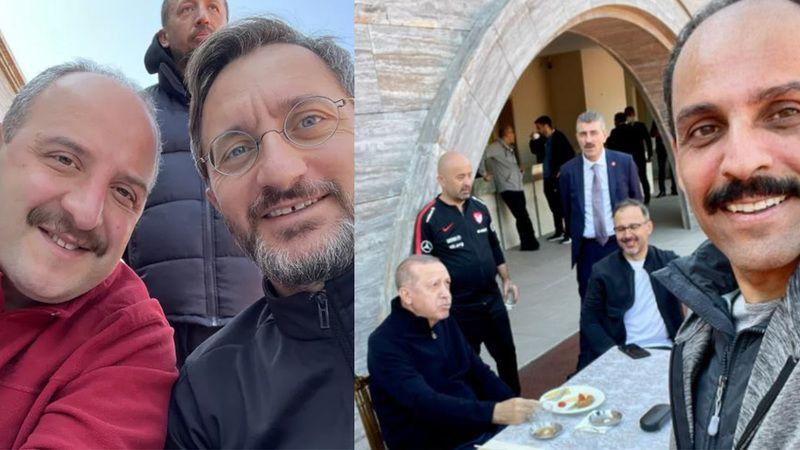 Cumhurbaşkanı Erdoğan'dan sabah sporu   Kalın: Cumhurbaşkanımız formundaydı maşallah