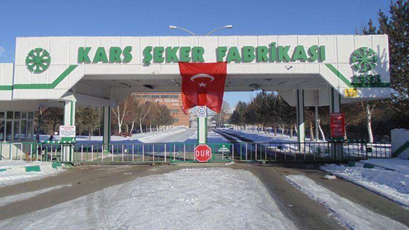 Kars Şeker Fabrikası personel hizmeti alacak
