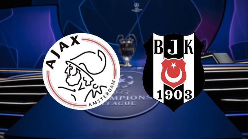 Şampiyonlar Ligi maçı izle! Canlı maç izle, Beşiktaş maçı izle! Ajax Beşiktaş maçı izle (CANLI)