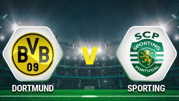 Borussia Dortmund Sporting Lizbon maçı izle canlı! Şampiyonlar Ligi maçları izle! Borussia Dortmund Sporting Lizbon maçı izle