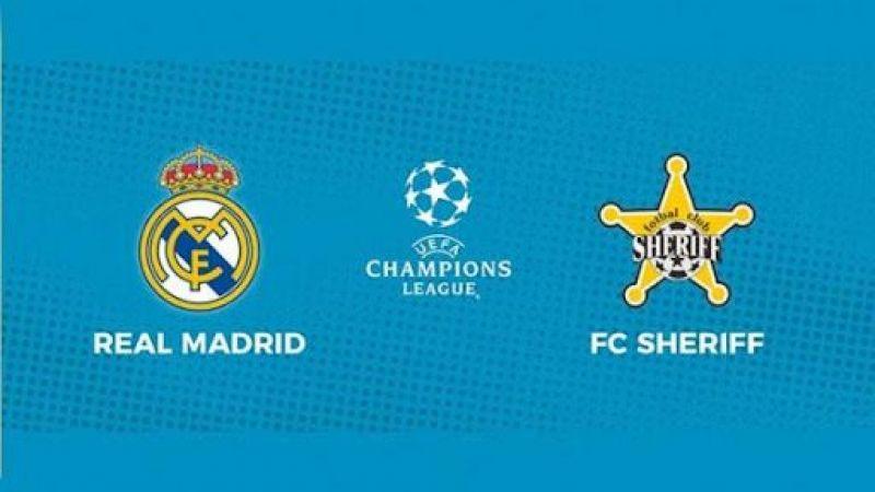 Real Madrid Sheriff maçı canlı izle, Real Madrid maçı izle! Canlı Şampiyonlar Ligi maçı izle…