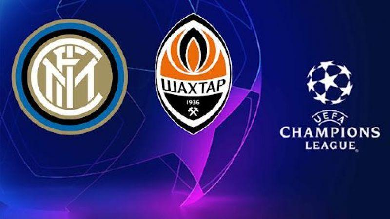 Şampiyonlar Ligi maçı izle! Shakhtar Donetsk İnter maçı canlı izle, İnter maçı izle (CANLI)