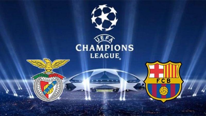 Canlı maç izle! Benfica Barcelona maçı canlı izle, Benfica Barcelona izle