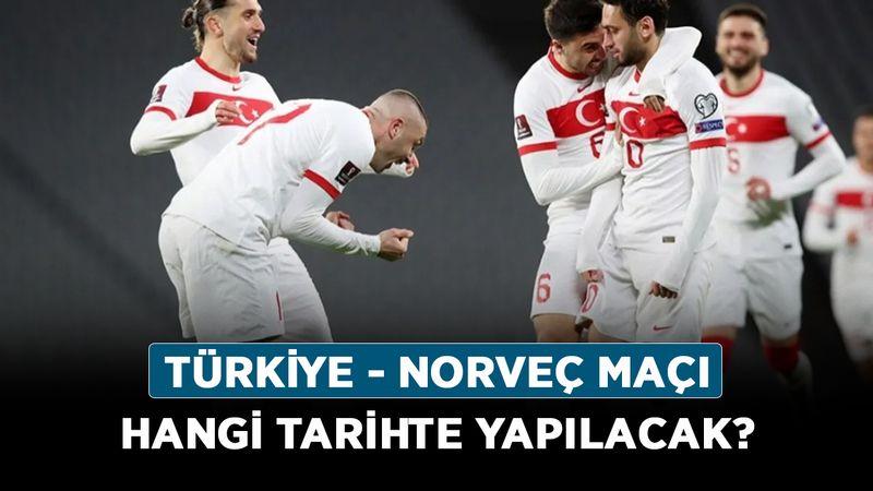 2021 Milli ara ne zaman olacak? Türkiye - Norveç maçı hangi tarihte yapılacak?