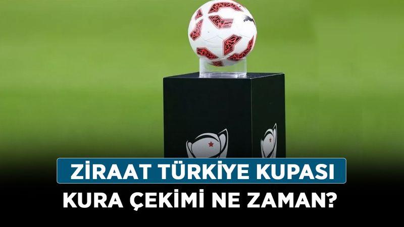 Ziraat Türkiye Kupası kura çekimi ne zaman? 2021 TFF Ziraat Kupası hangi gün, saat kaçta?