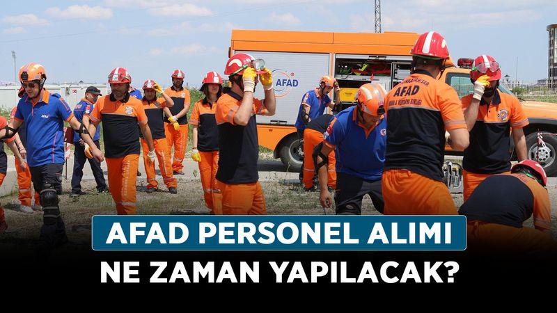 AFAD personel alımı ne zaman yapılacak? 2021 AFAD personel alım başvuru nasıl, nereden yapılır?