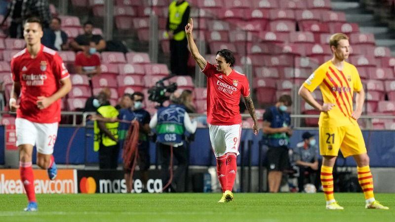 Benfica, Barcelona'yı sahadan sildi! 3-0