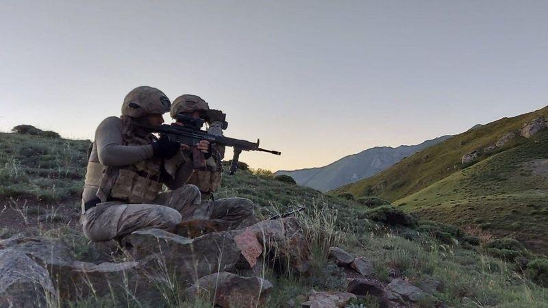 Gri kategorideki PKK'lı terörist Şırnak'ta etkisiz hale getirildi