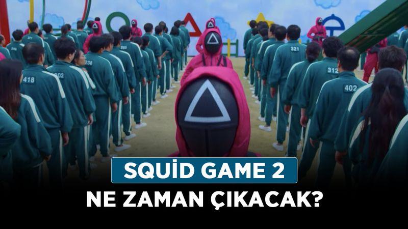 Netflix Squid Game 2 ne zaman çıkacak? Squid Game 2. Sezon gelecek mi?