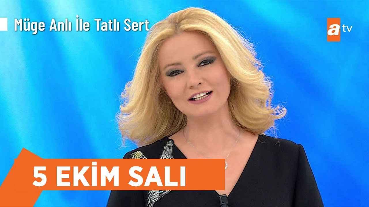 Müge Anlı 5 Ekim Salı ATV canlı yayını izle! Müge Anlı YouTube full HD  kesintisiz izle! - Haberler - Diriliş Postası