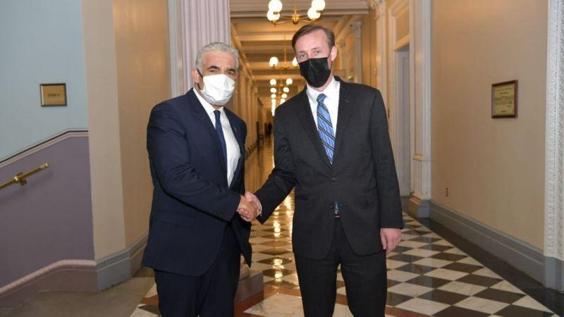 ABD Ulusal Güvenlik Danışmanı Sullivan ve İsrail Dışişleri Bakanı Lapid bir araya geldi