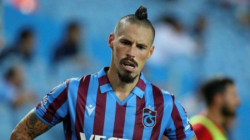 Trabzonspor'a kötü haber! Hamsik, Fenerbahçe maçında forma giyemeyecek
