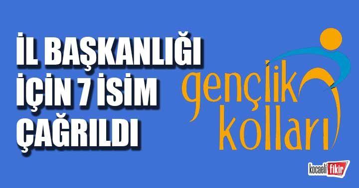 AK Parti Gençlik Kolları Başkanlığı için 7 isim Ankara'ya çağrıldı