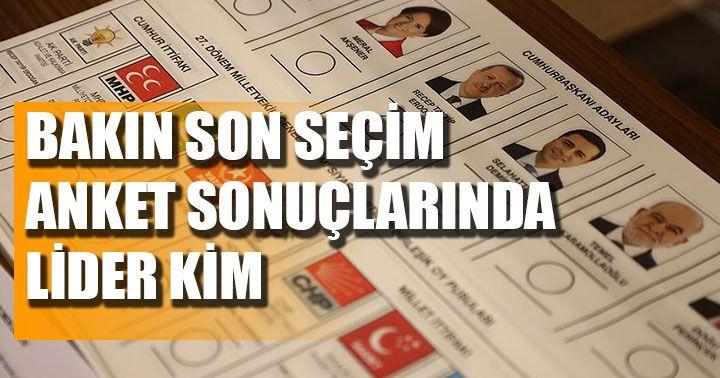 Son seçim anketi sonuçlarını yayınladı: Cumhur İttifakı yüzde 50'nin üzerinde oy alıyor