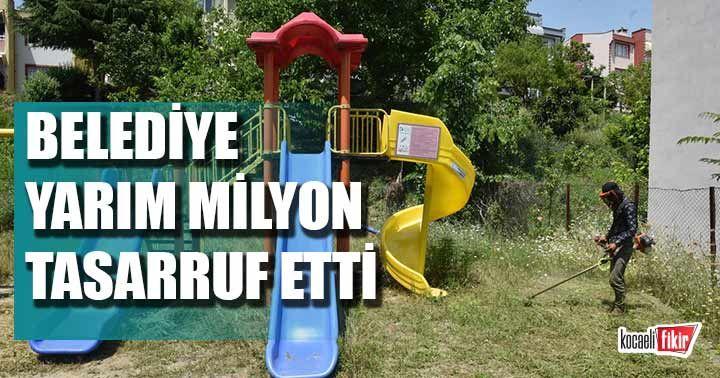 İzmit Belediyesi, yarım milyon tasarruf sağladı