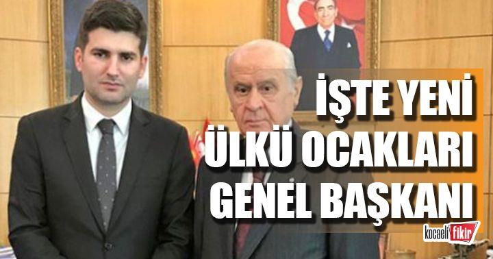 Ülkü Ocakları Genel Başkanı değişti! Yeni başkan Ahmet Yiğit Yıldırım Oldu