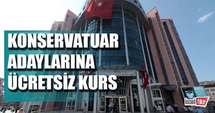 İzmit Belediyesinden konservatuar adaylarına ücretsiz hazırlık kursu