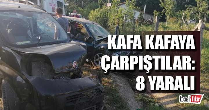 Kandıra'da kaza: 8 yaralı