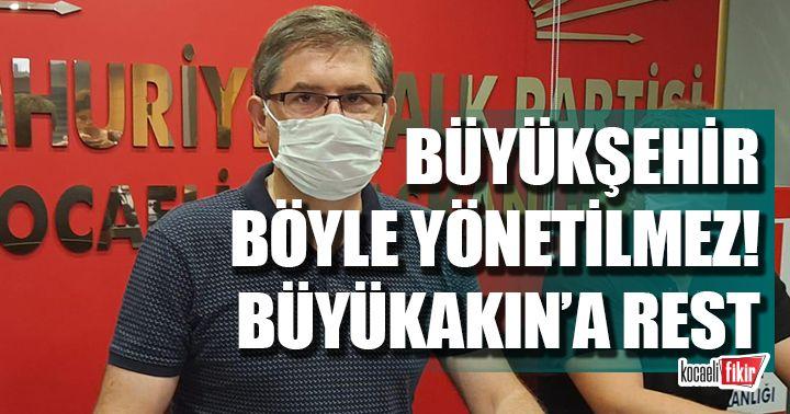Yıldızlı'dan Büyükakın'a rest Büyükşehir böyle yönetilmez!