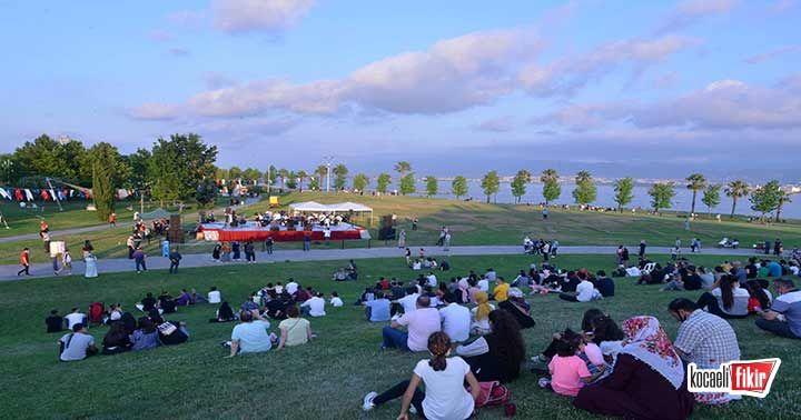Sekapark'ta açık havada yaz konseri