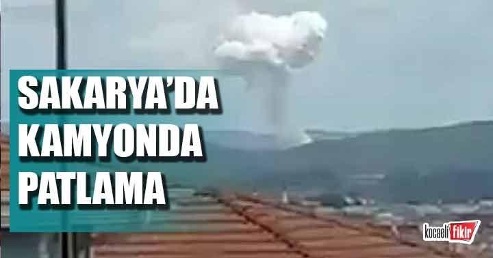 Sakarya'da bir patlama daha!