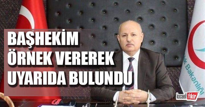 Başhekim Mustafa Güneş vatandaşları örnek vererek uyardı! Yoğun bakım yatağımızla bekliyoruz