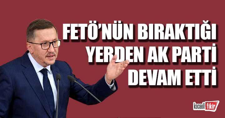 Lütfü Türkkan'dan çoklu baro açıklaması: FETÖ'nün bıraktığı yerden AK Parti devam etti
