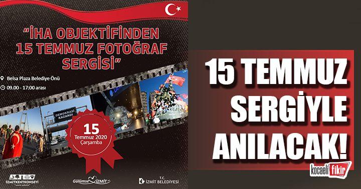 İzmit Belediyesi 15 Temmuz'u fotoğraf sergisiyle anacak