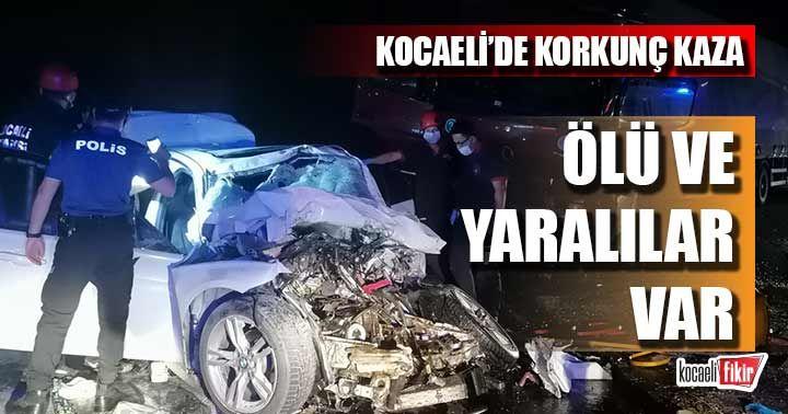Kocaeli'de korkunç kaza! İki kişi hayatını kaybetti