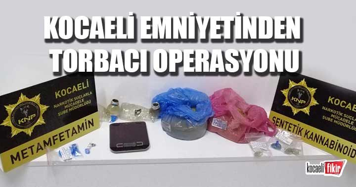 Kocaeli emniyetinden torbacı operasyonu