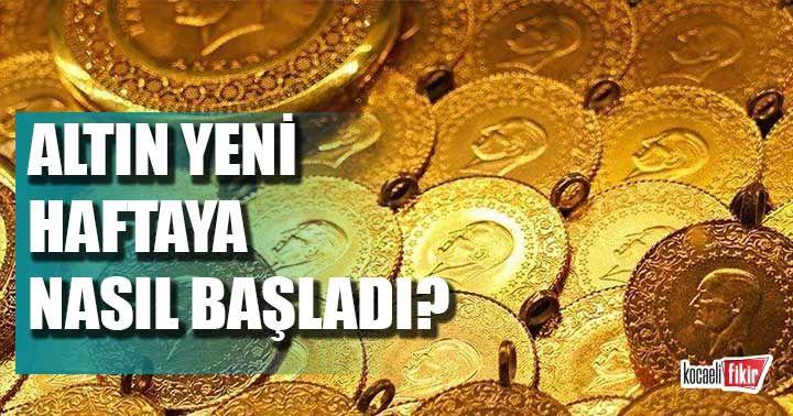 Altın fiyatları güne nasıl başladı? (20 Temmuz Pazartesi)