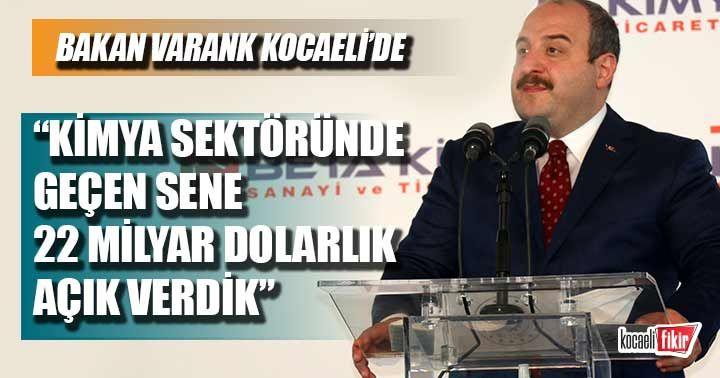 Bakan Mustafa Varan Kocaeil'de