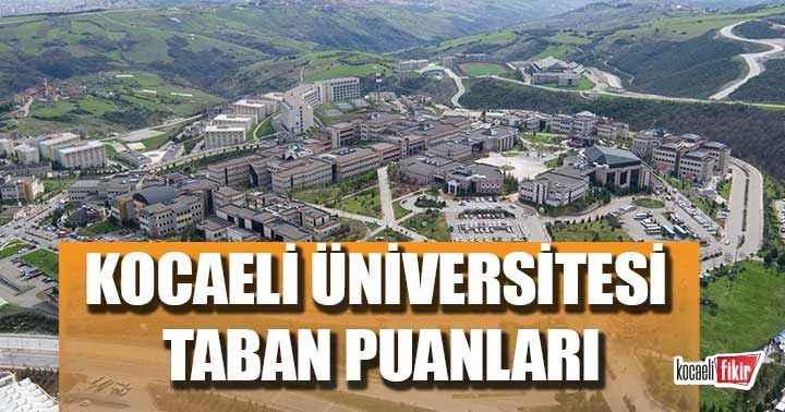 kocaeli universitesi taban puanlari