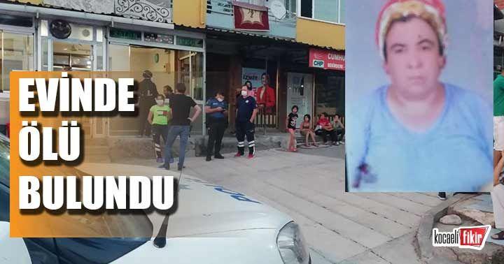 Kocaeli'de yaşlı kadın evinde ölü bulundu