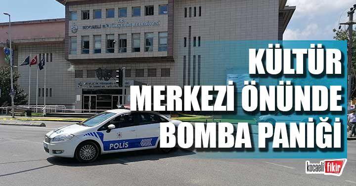 Gebze'de bomba paniği