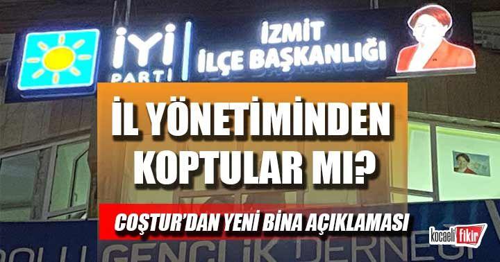Pelin Filiz Coştur'dan ilçe binası açıklaması! İl Yönetiminden koptular mı?