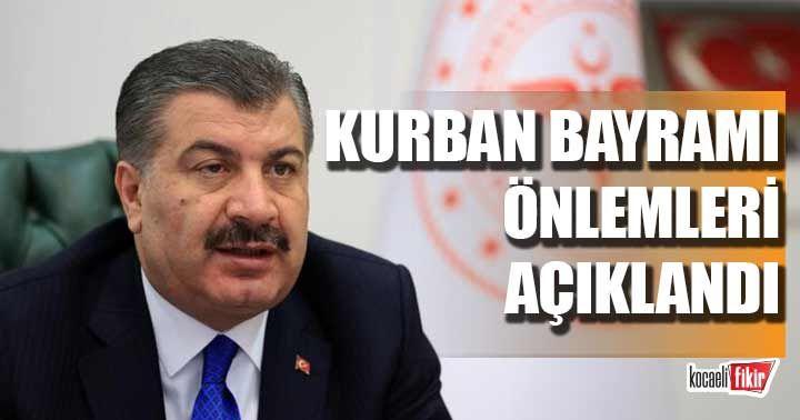 Sağlık Bakanı Fahrettin Koca, Kurban Bayramı tedbirlerini sıraladı