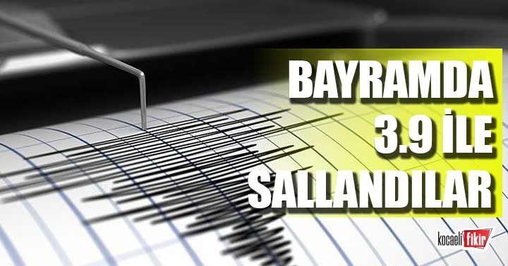 Malatya Bayram sabahına deprem ile uyandı