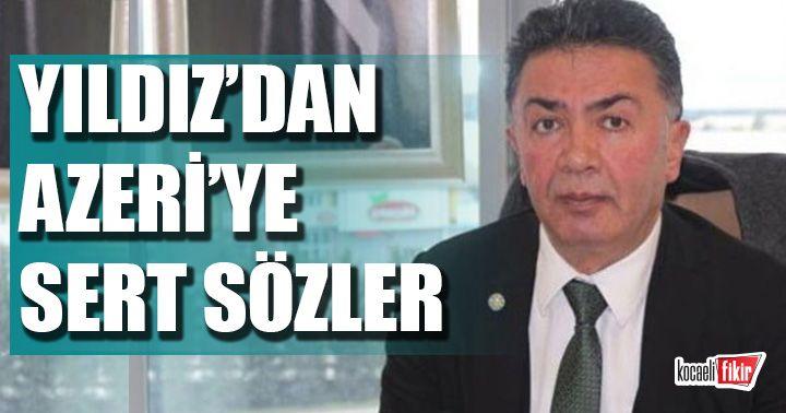 Şanbaz Yıldız'dan, Erkan Azer'e sert eleştiri!