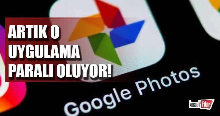 Google Fotoğraflar 1 Haziran'da paralı oluyor